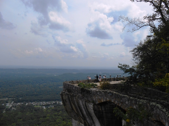 There's Lovers Leap!