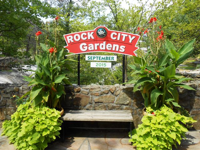 Rock City Gardens has tons of photo opportunities!