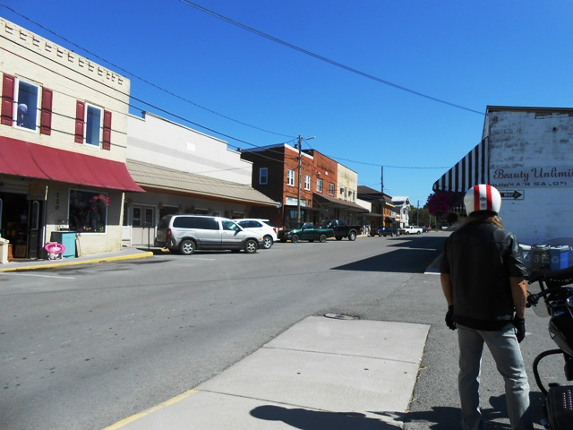 Downtown Tazewell.