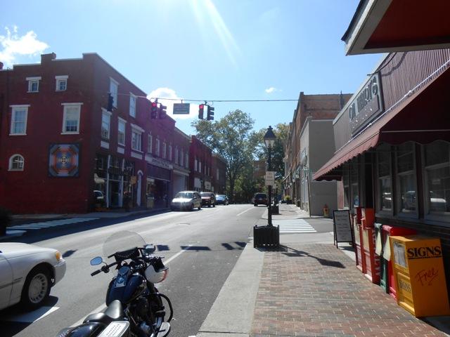 After lunch we walked around historic Rogersville.