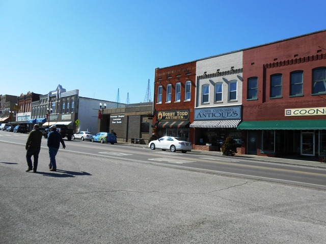 View of downtown Sweetwater.