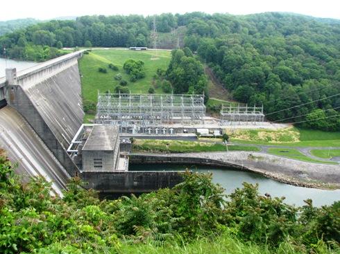 View of Norris Dam.