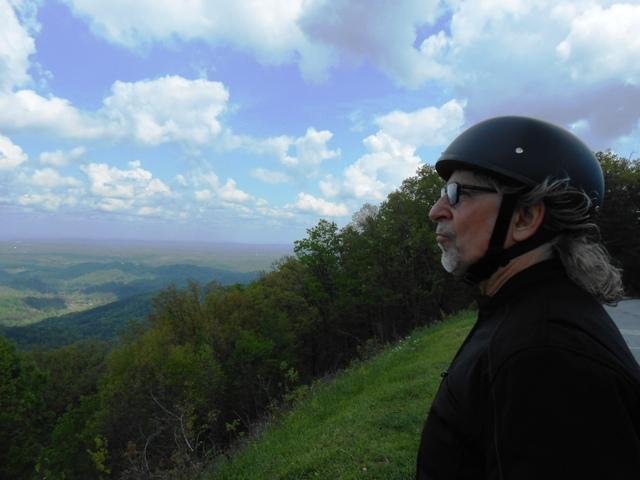 Jeff enjoying the view.