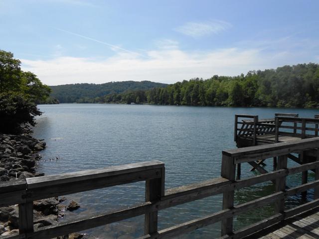 Plus a nice dock.