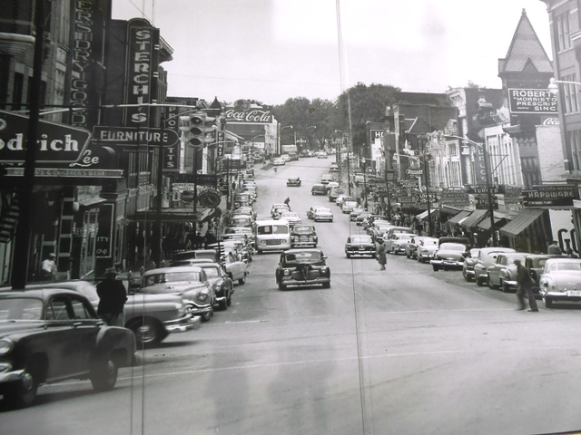Photo of historic downtown Morristown.