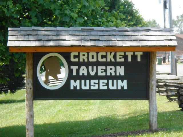 The Crockett Tavern Museum.