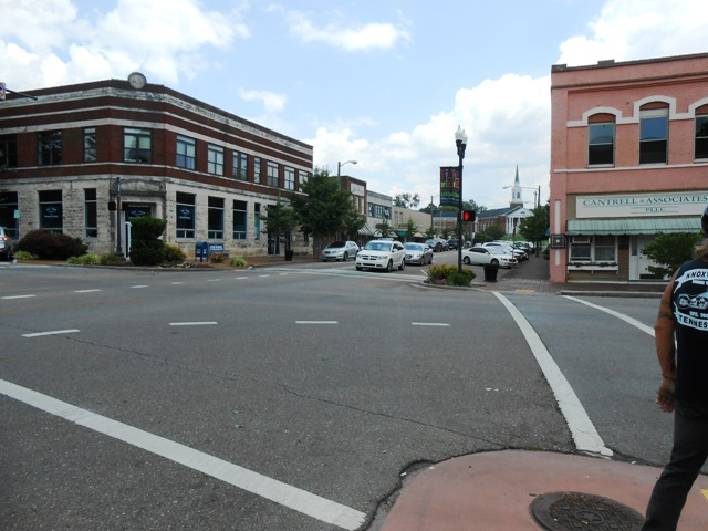 Another view of downtown Athens.