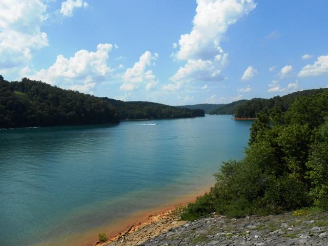 View of Norris Lake.
