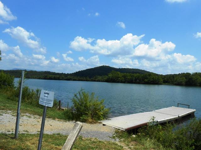 At Melton Lake Park.