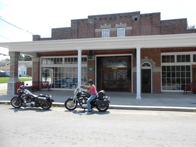 A beautiful historic building near downtown Oliver Springs.
