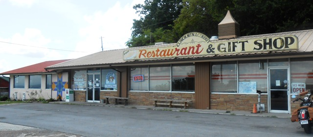Clinch Mountain Restaurant on 25E.