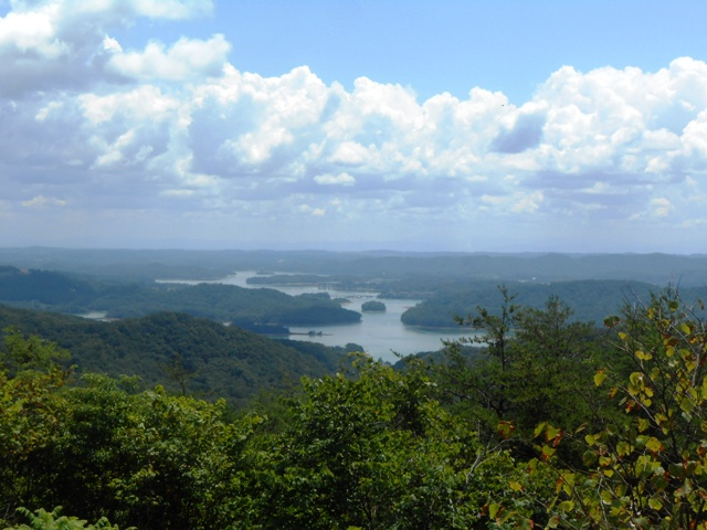 View from the Veteran's Overlook.