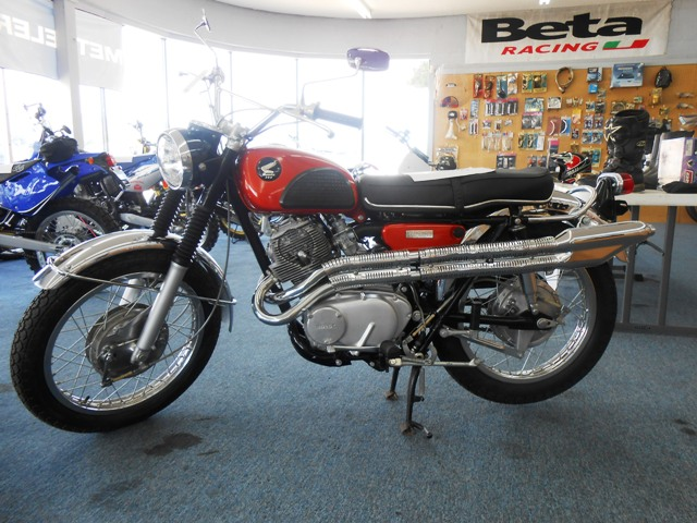 This 1968 Honda CL Scrambler 305 is a beaut!