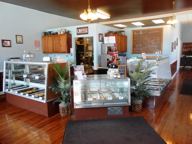 Inside the Simply Sweet Bakery.