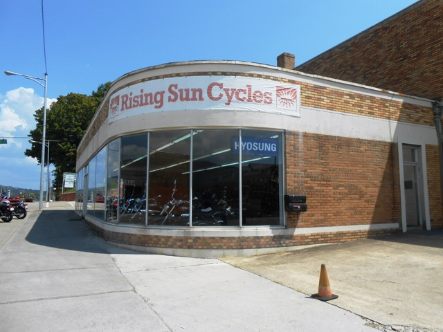 Rising Sun Cycles in Harriman, TN.