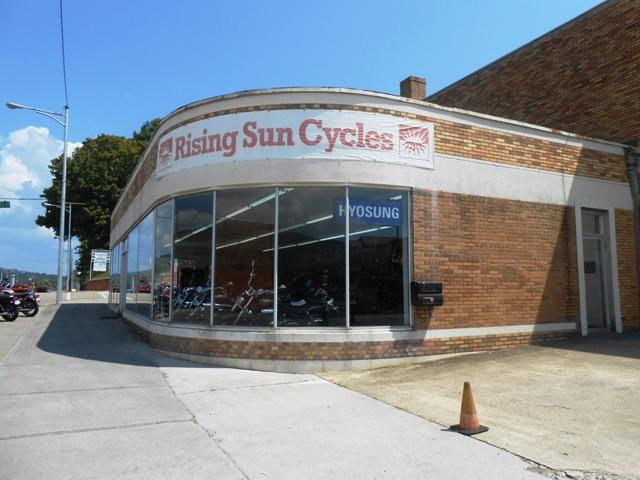 Rising Sun Cycles in Harriman, TN.