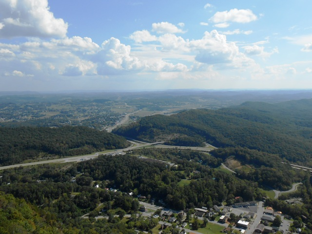View from the Pinnacle Overlook.