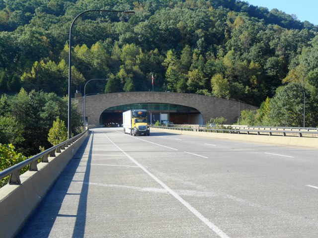 View of the Tunnel entrance.
