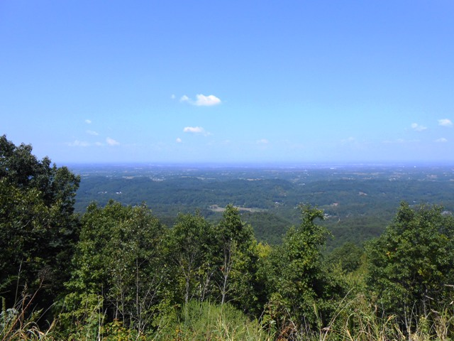 View from another overlook on the Foothills Parkway.