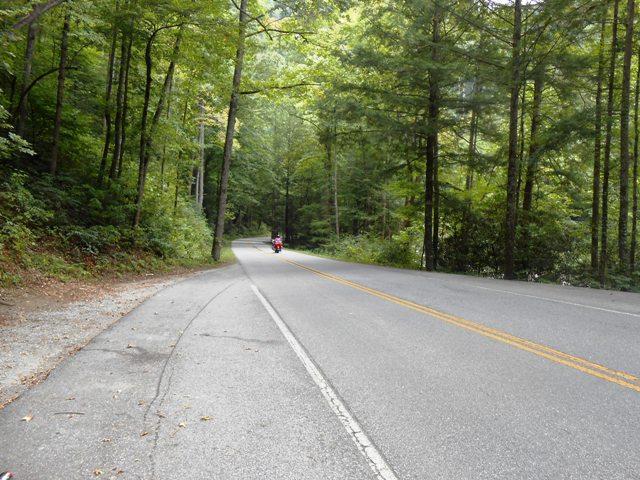 73 runs through the Smoky Mountains.