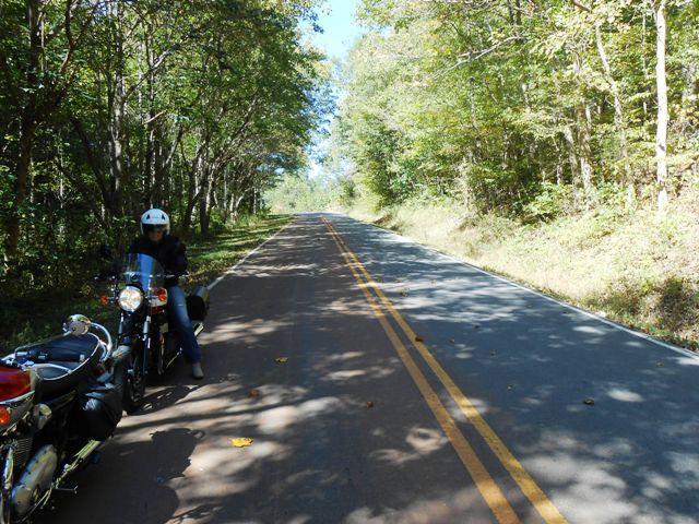 On the road to Tellico Plains.