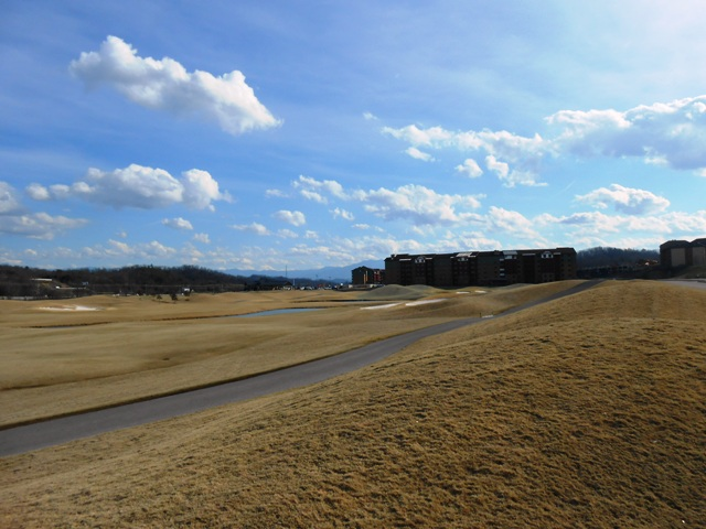 View of golf grounds in Sevierville.