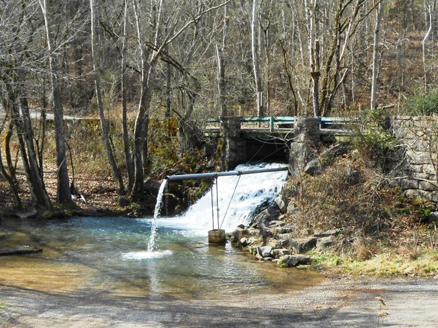 View of water off Indian Ridge Road.